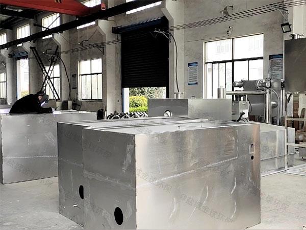 工地食堂甲型用砖做隔油处理器十大品牌