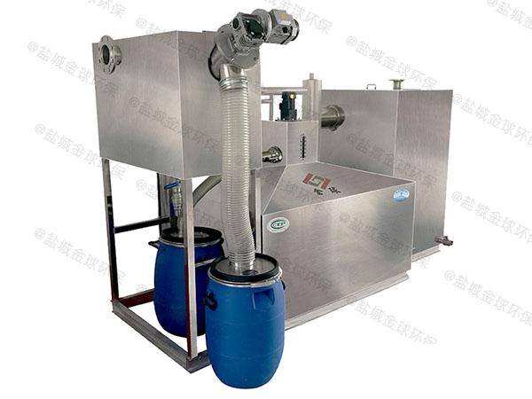 工地食堂大型用砖做隔油强排设备使用要求