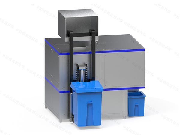 5吨自动化餐饮垃圾处理机运行原理