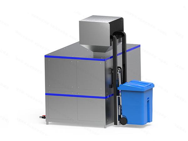 日处理10吨自动上料厨余垃圾粉碎处理设备处理工艺