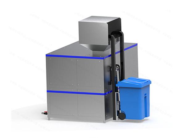 20吨全自动厨余垃圾处理设备流程图