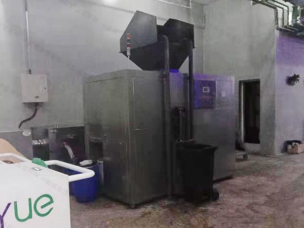 大中型厨余垃圾一体机规格型号及价格