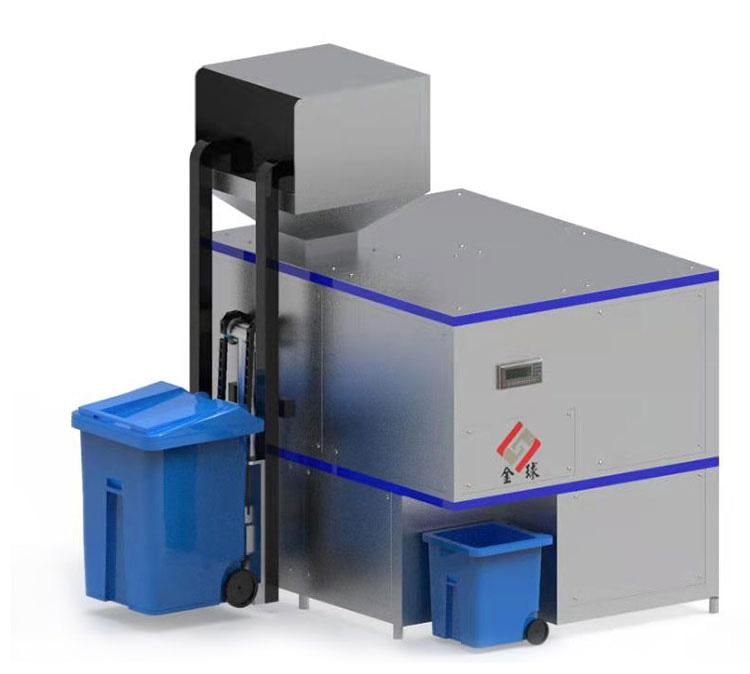 小型自动上料餐厨垃圾减量化处理设备种类齐全