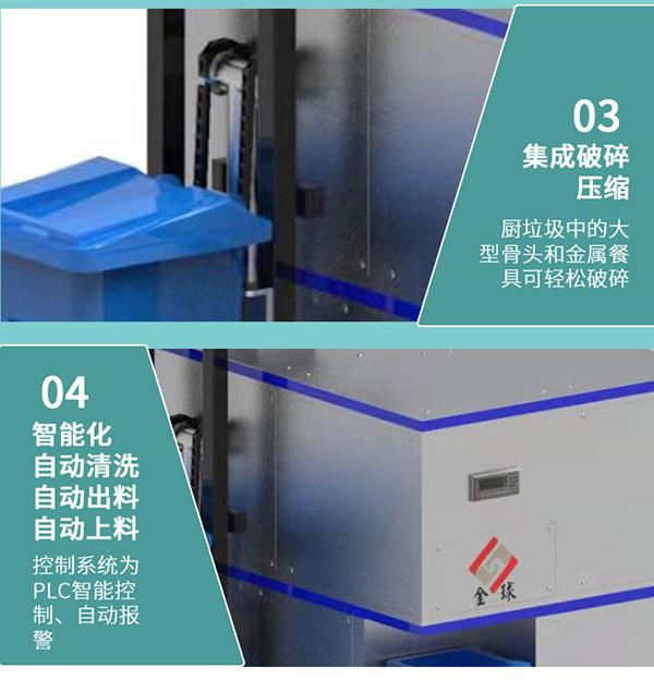 5吨智能餐饮垃圾处理设备一体机服务商