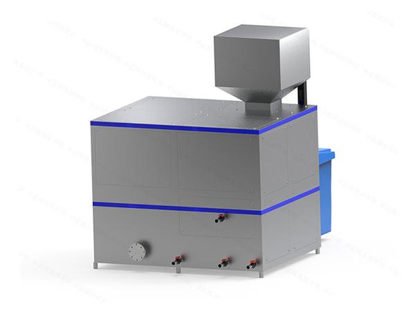 日处理5吨自动上料餐饮垃圾减量处理设备规格型号