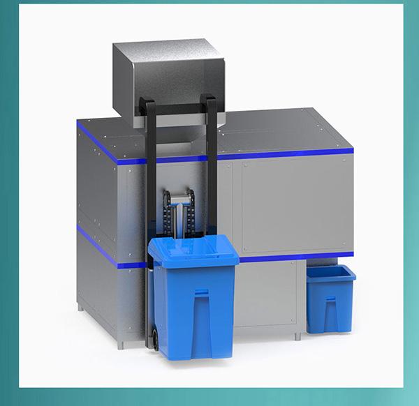 5吨机械式餐饮垃圾减量处理设备优缺点