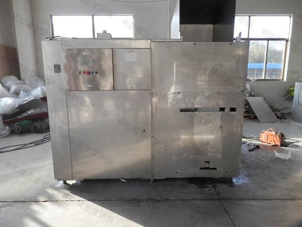 日处理5吨智能厨余垃圾处理一体机案例