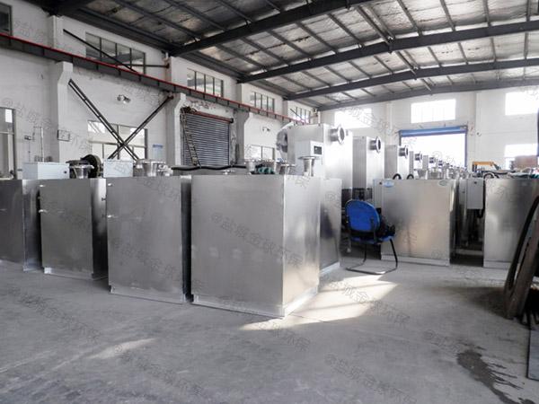 家庭用密闭排渣污水提升器设备加装潜水排污泵
