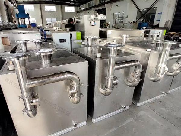 家庭卫生间密闭式自动排渣污水提升处理器效果