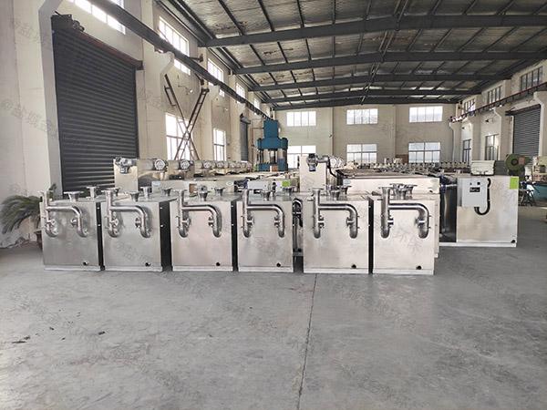 专业卫生间外置双泵污水提升设备额定功率