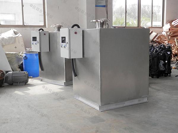 商场地下室家装污水隔油提升器总代理