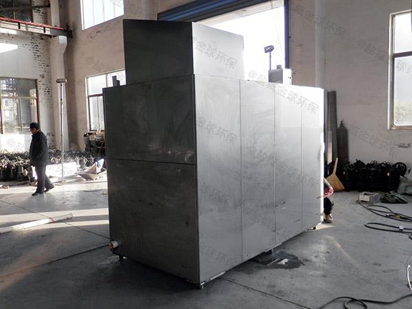 日处理5吨智能化餐厨垃圾处理成套设备处理方案