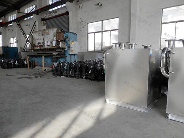 负一层地下室内置污水排放提升设备