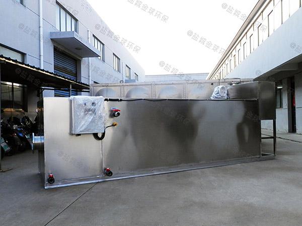 餐厨地面式半自动隔油净化设备产品公示目录