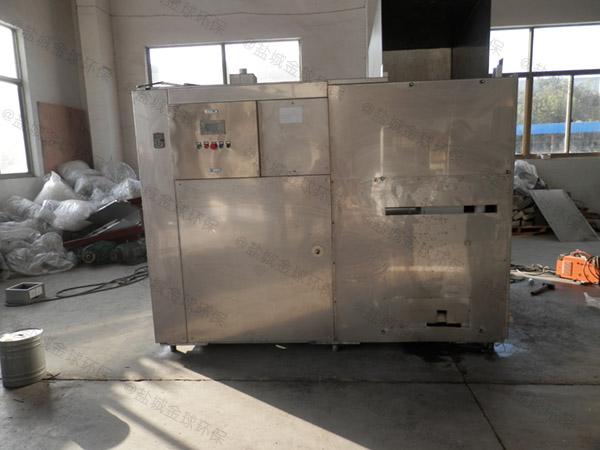 日处理5吨机械式厨余垃圾处理器图片