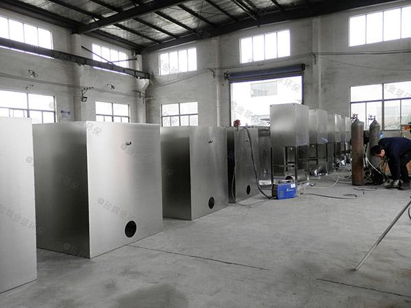 餐饮店地下机械隔油器提升设备除油效率