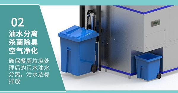 10吨智能厨余一体化垃圾处理设备采购
