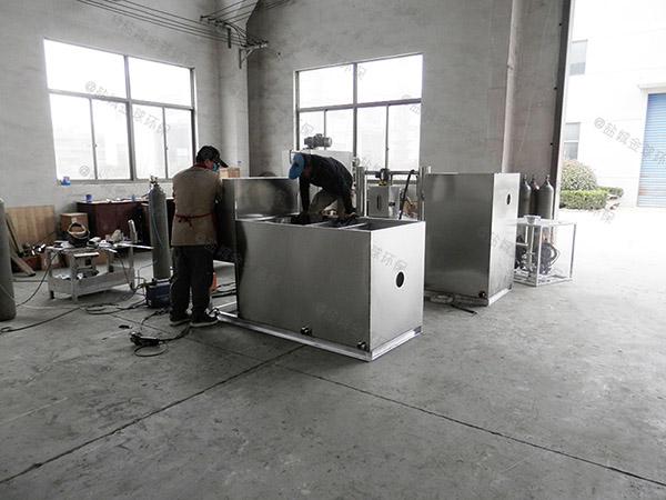 餐厨地下室全能型隔油处理设备安装方法