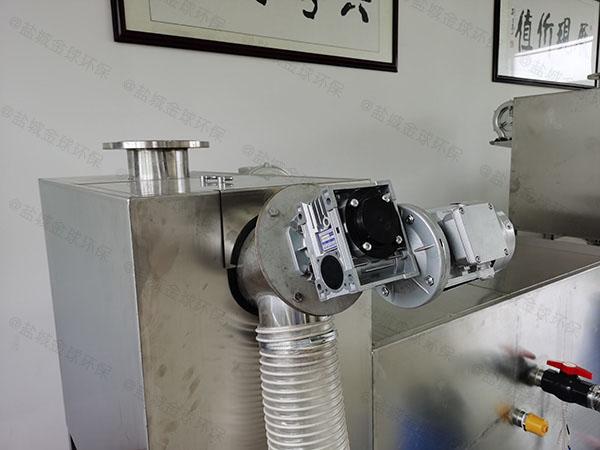 餐厨地下室半自动隔油器提升设备大小