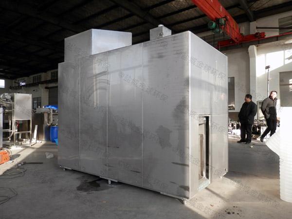 20吨自动化厨余垃圾处理一体机配置清单