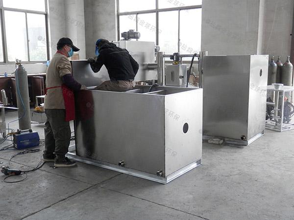 厨房地下式机械隔油处理设备的处理效率