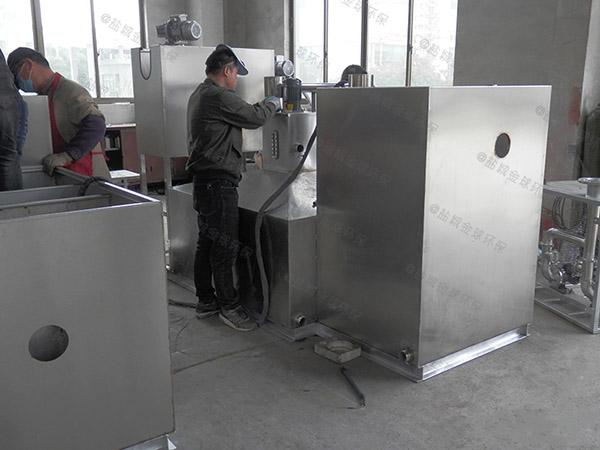 厨房室外简易隔油强排一体化设备产业