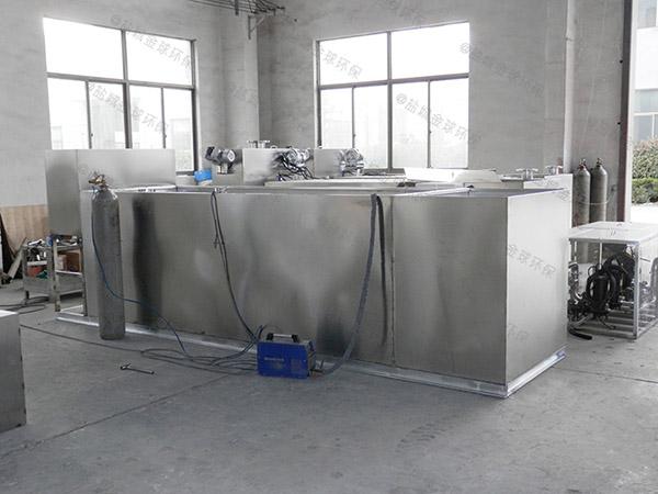 厨房室内半自动隔油除渣设备安装步骤