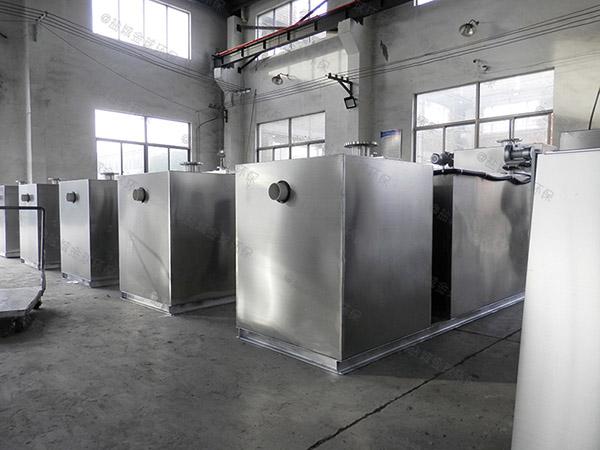 厨房埋地移动隔油器自动提升装置厂家价格