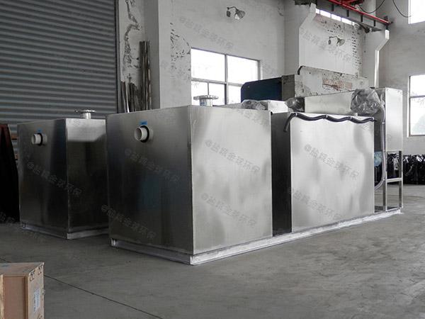 餐厨埋地式简单隔油除渣器产品