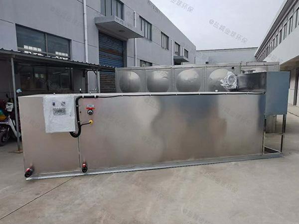 饭店地下式全能型隔油全自动提升设备安装方法