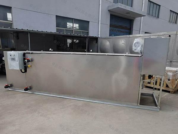 餐厨地上机械隔油过滤器操作规程