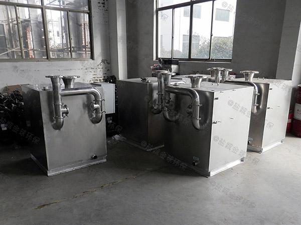 别墅用双泵洗污水隔油提升器一般多久