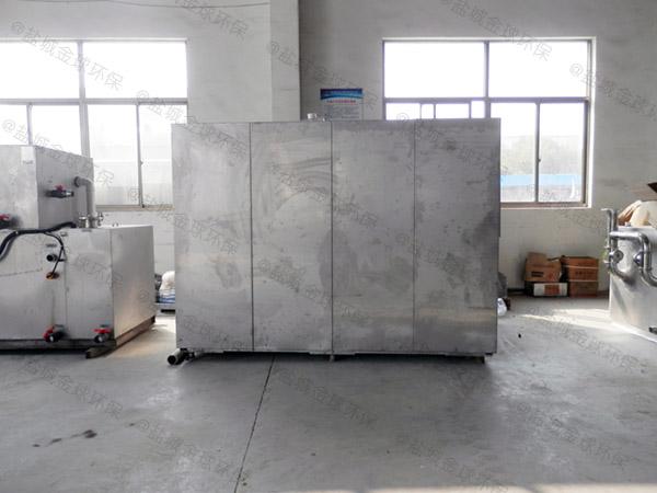 10吨机械式餐厨垃圾处理器方法