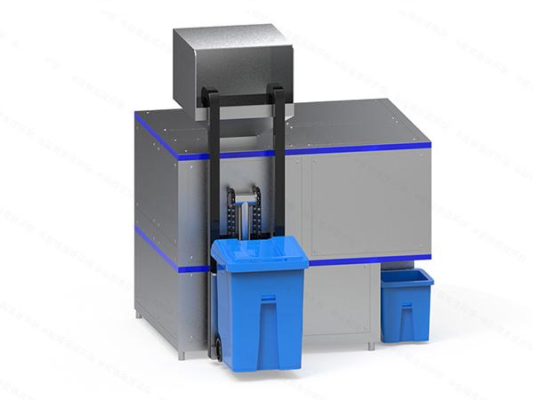 日处理10吨智能餐饮垃圾减量化处理设备作用
