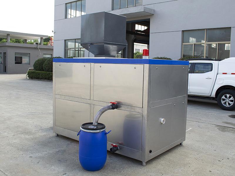 日处理10吨商业城餐饮垃圾粉碎处理设备价位