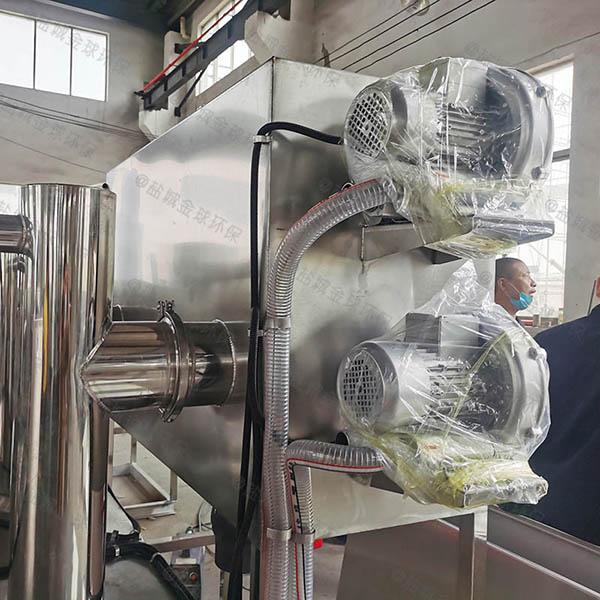地埋智能型厨房垃圾油水分离设备改造