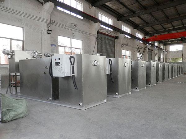室外自动排水厨房油水分离设备设计图