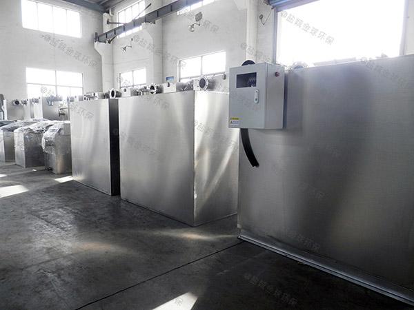 庭院外置双泵污水处理提升器安装工费