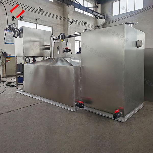 地下智能厨房油水分离设备规格