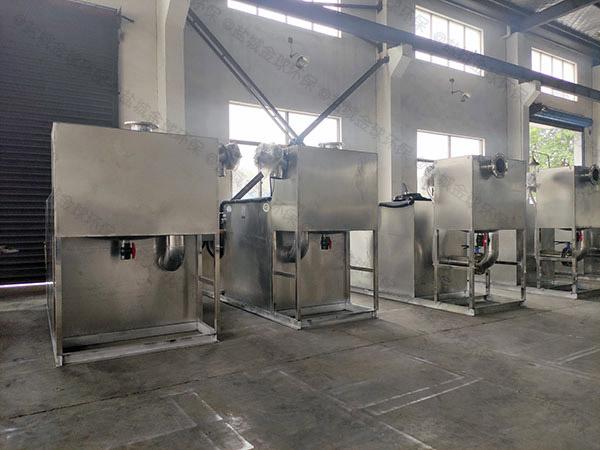 室外机械食堂油水分离器图片
