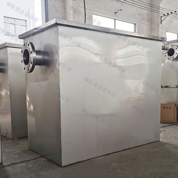 地埋式智能化餐厅油水分离装置规格型号及容量