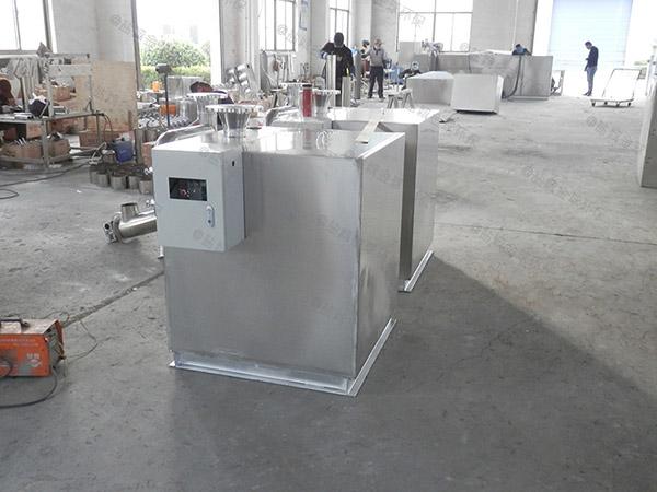 卫生间切割型污水提升器安装尺寸