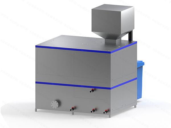 机械式商场厨房垃圾处理一体设备运行原理