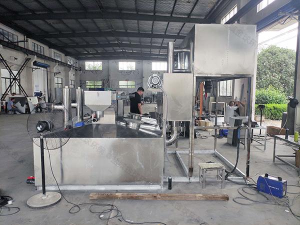 地埋机械餐厨垃圾油水分离器规格型号及价格