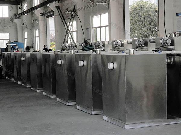 地埋加热餐厨垃圾垃圾油水分离处理设备设计规范