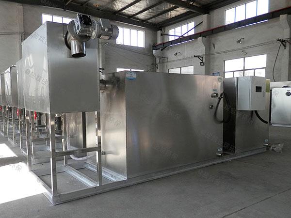 地上式多功能厨房油水分离机规格