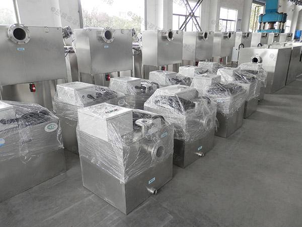 商场切割型污水提升设备cad