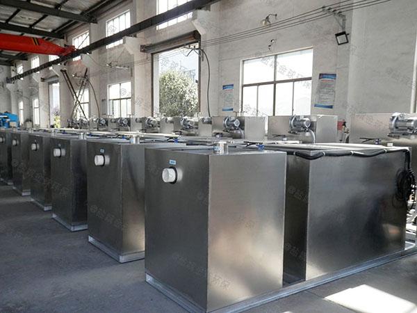 地上无动力饭店油污水分离装置生产厂家