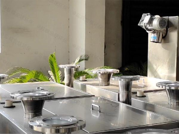 商场地下室外置泵反冲洗型污水隔油提升器费电么